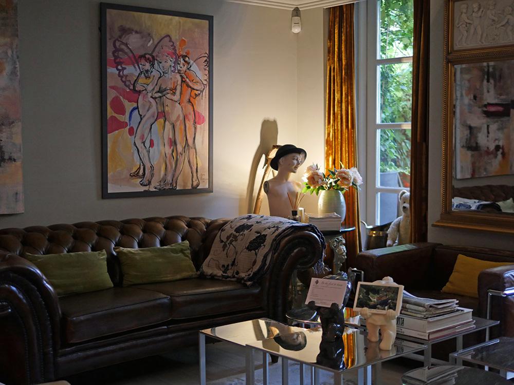 Villa di Geggiano Lounge