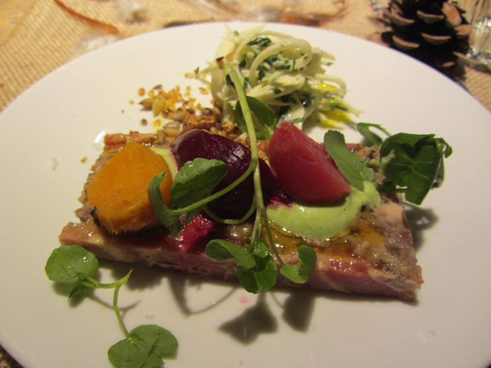 Young's Heritage Breeds and Robust Reds - partridge terrine