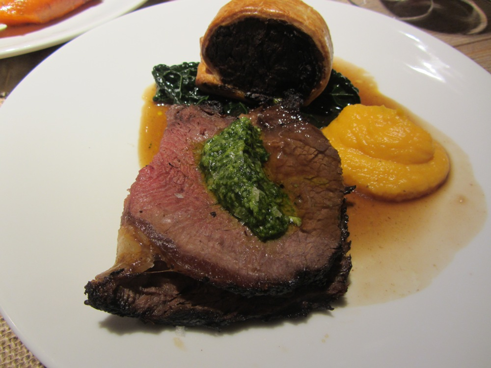 Young's Heritage Breeds and Robust Reds - rib of beef and short rib wellington