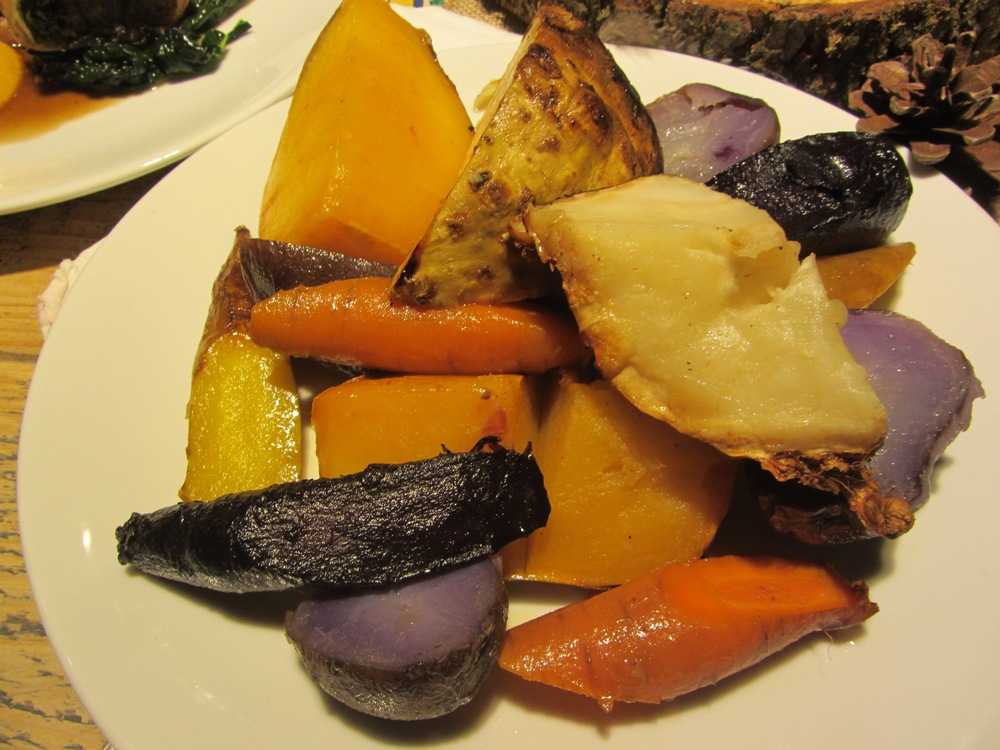 Young's Heritage Breeds and Robust Reds - salt baked root vegetables
