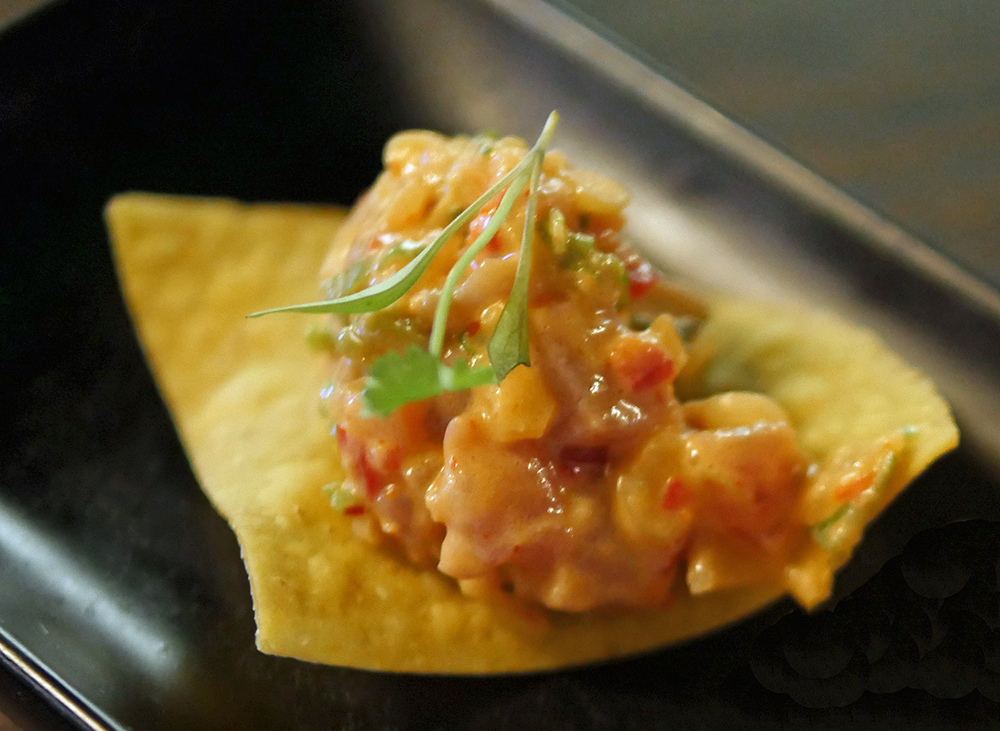 Yuu Kitchen Spicy Tuna Tostada