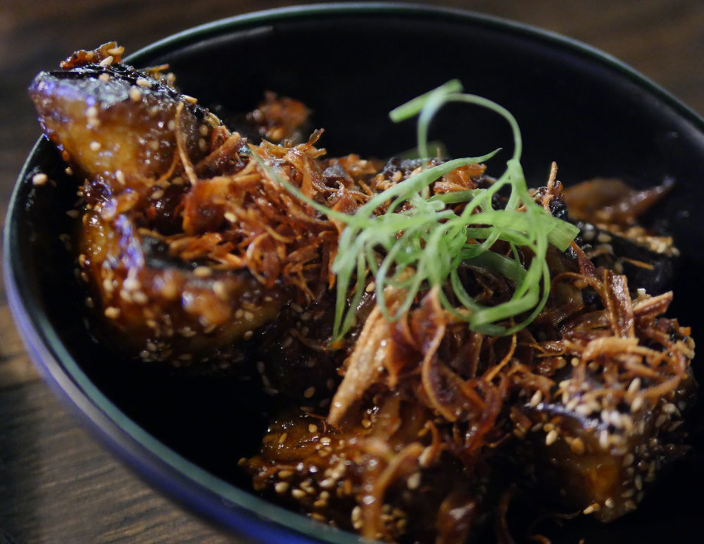 Yuu Kitchen Miso Glazed Aubergine