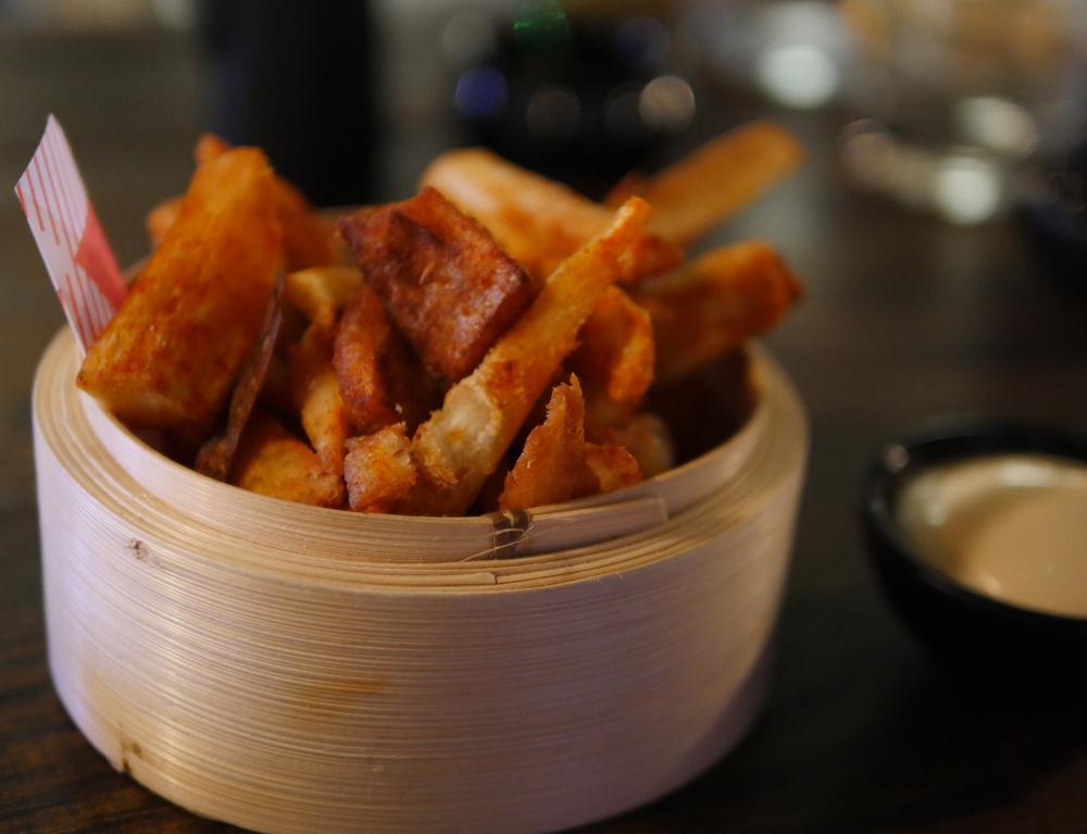 yuu kitchen cassava fries