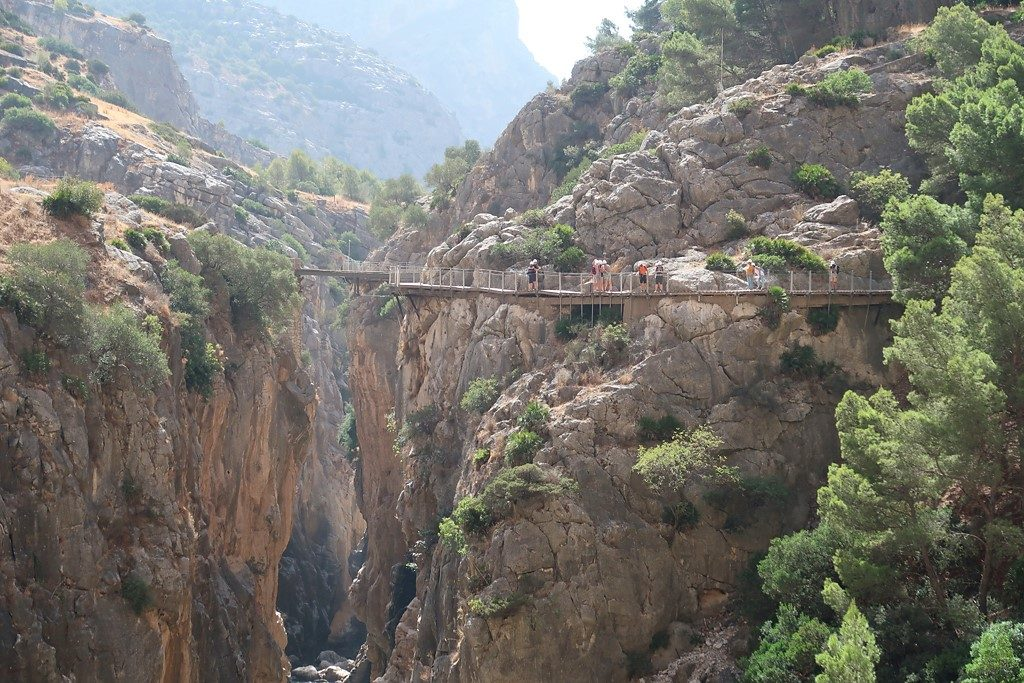 Caminito del Ray Gorge Walkway - one of the top things to do in Costa del Sol