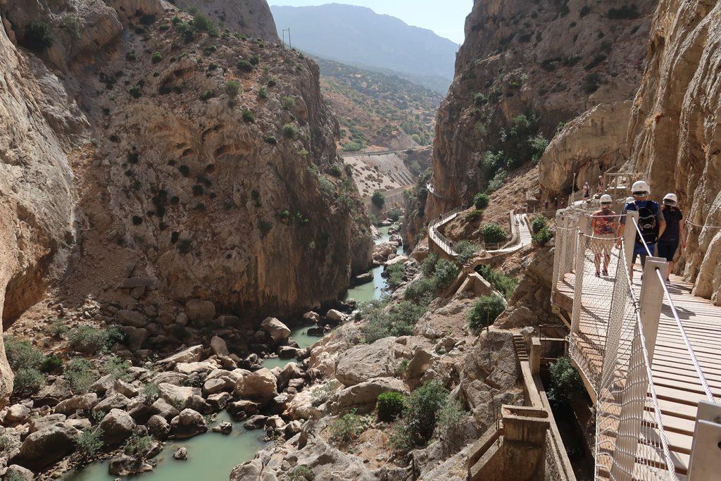 Caminito del Ray Gorge and River Walkway