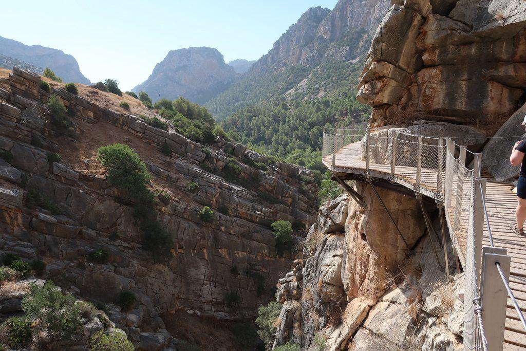 Caminito del Ray Walkway Throuigh The Gorge