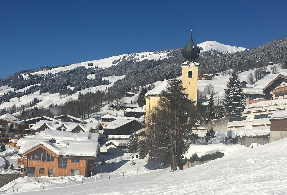 Church Saalbach Austria