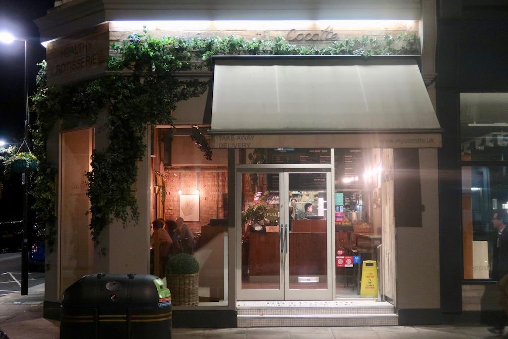 Cocotte exterior - Chicken Rotisserie in West London