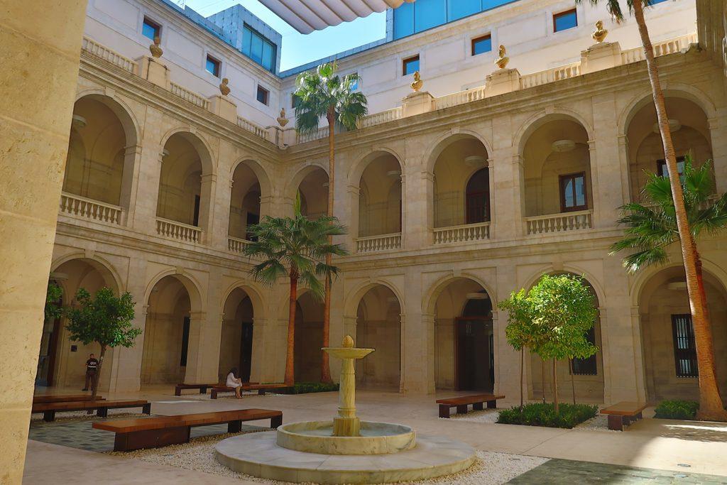 Costa del Sol Museo de Málaga Atrium