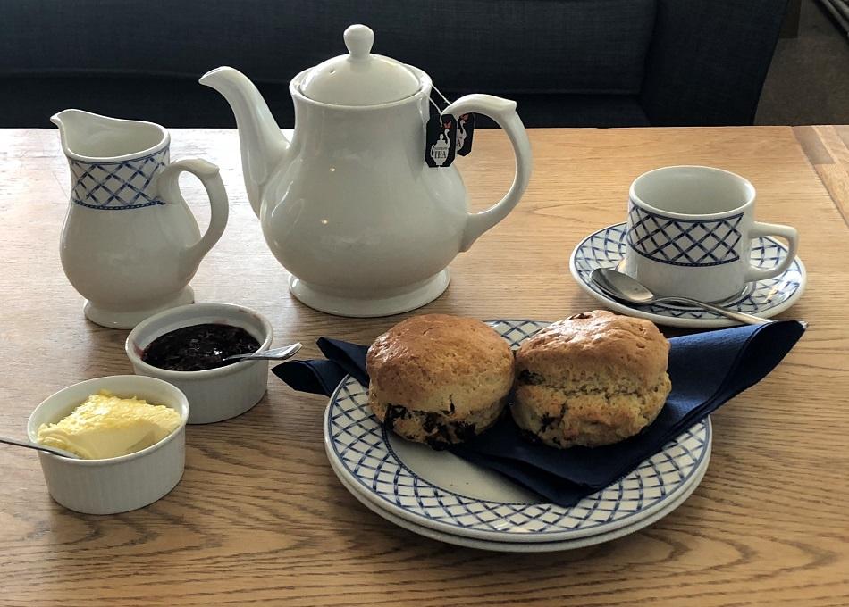 Cream Tea Soar Mill Cove Hotel South Devon
