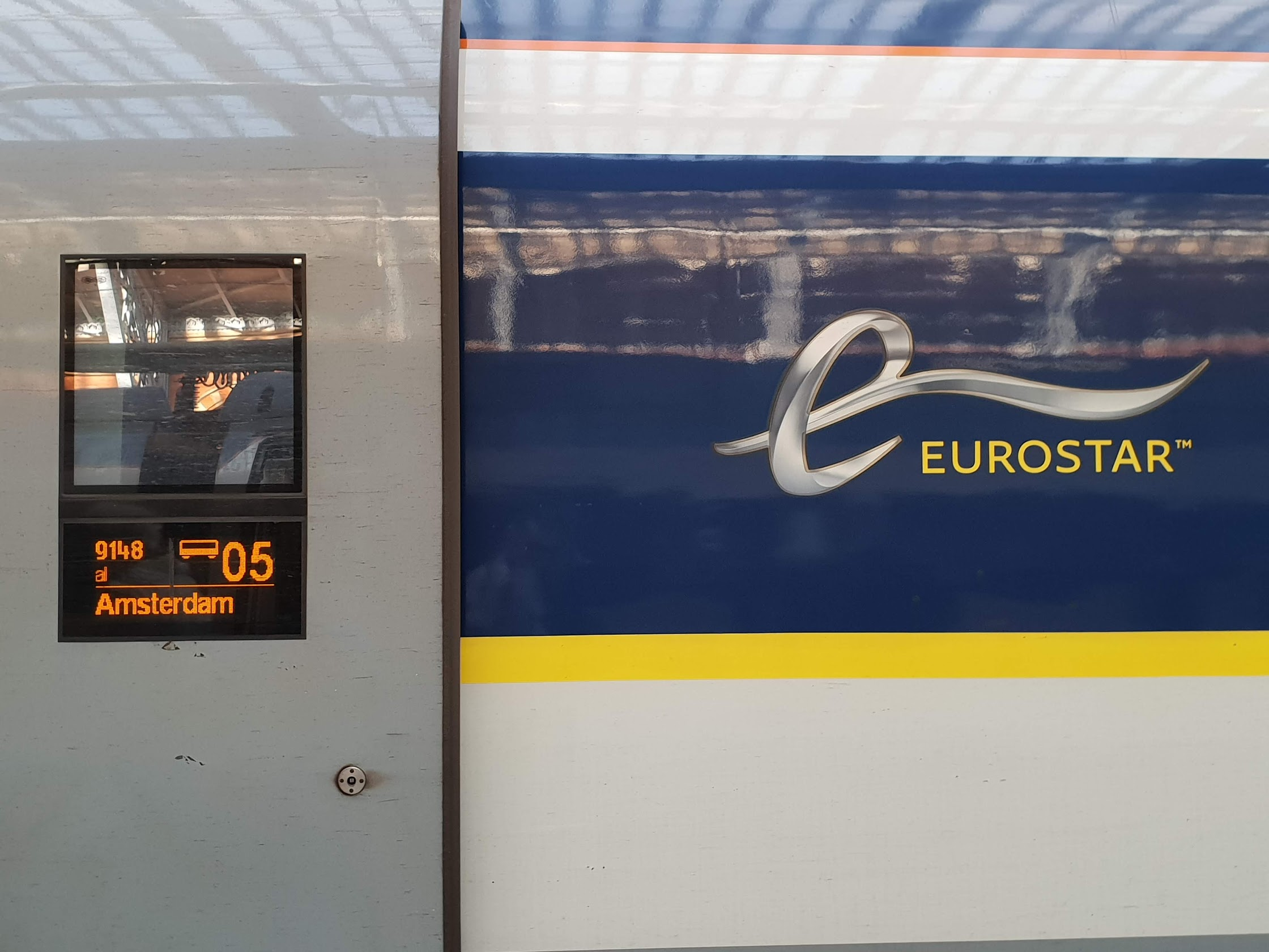 Eurostar standard premier review - travelling from London to Rotterdam by Eurostar