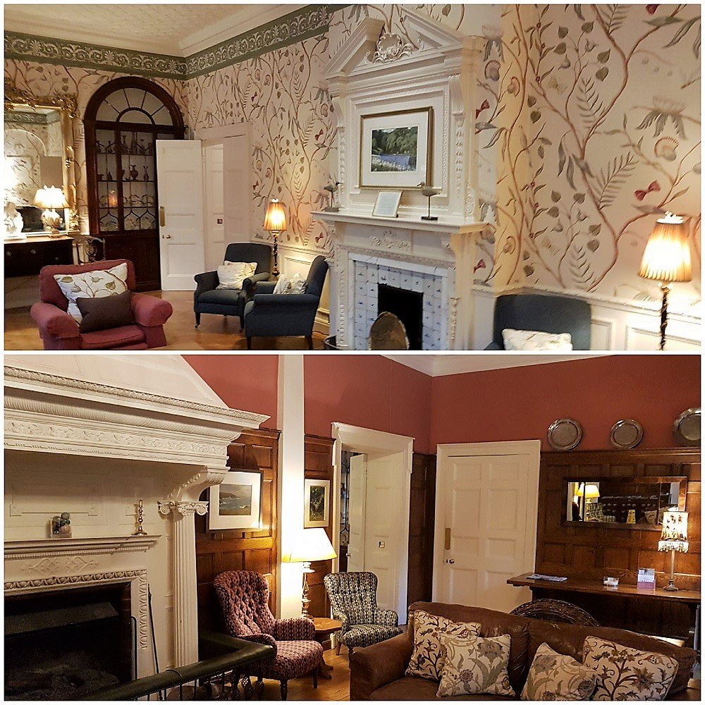 Gliffaes country house hotel - Sitting Rooms