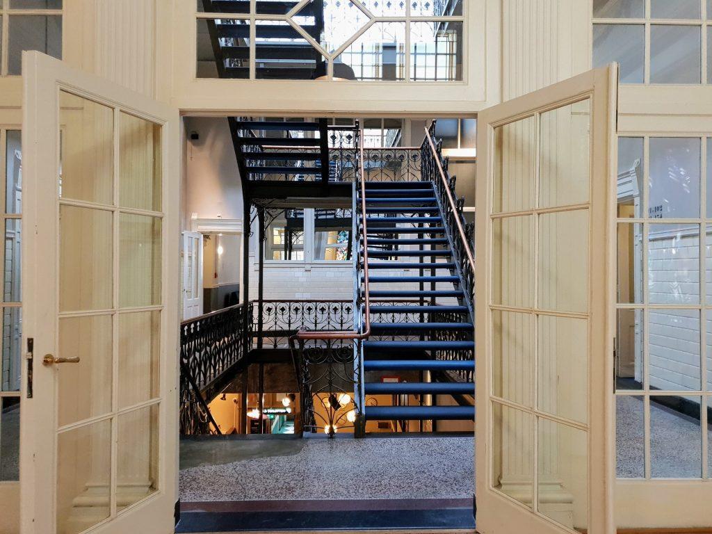 Heritage Hotel New York, Rotterdam, Original Staircase