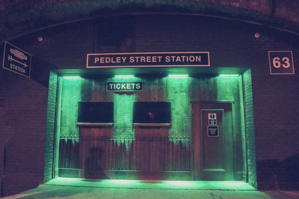 Journey to the Underworld - Pedley Street Station