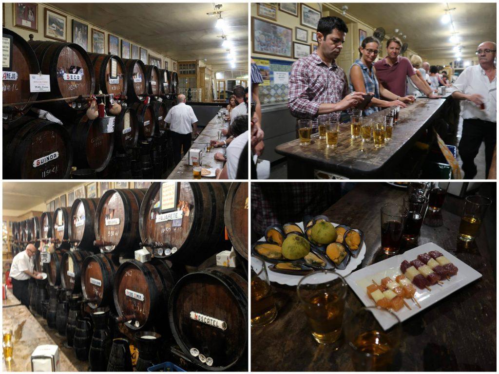 Malaga Antigua Casa De Guardia Wine and Tapas Bar