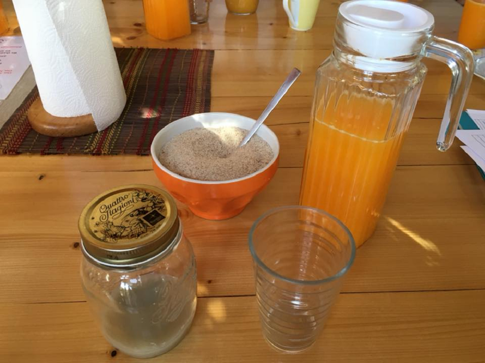 Moinh Velhos - Clay mix & OJ - Juice detox