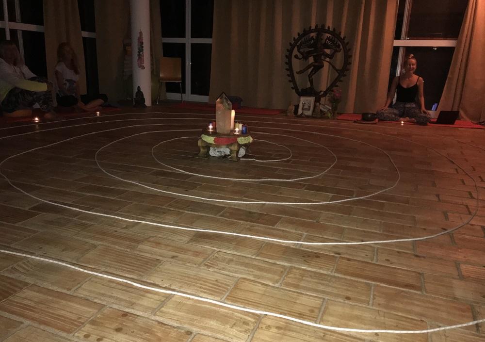 Moinhos Velhos - The spiral Ceremony