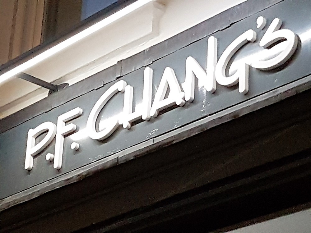 P.F.Chang's Asian Restaurant Leicester Square
