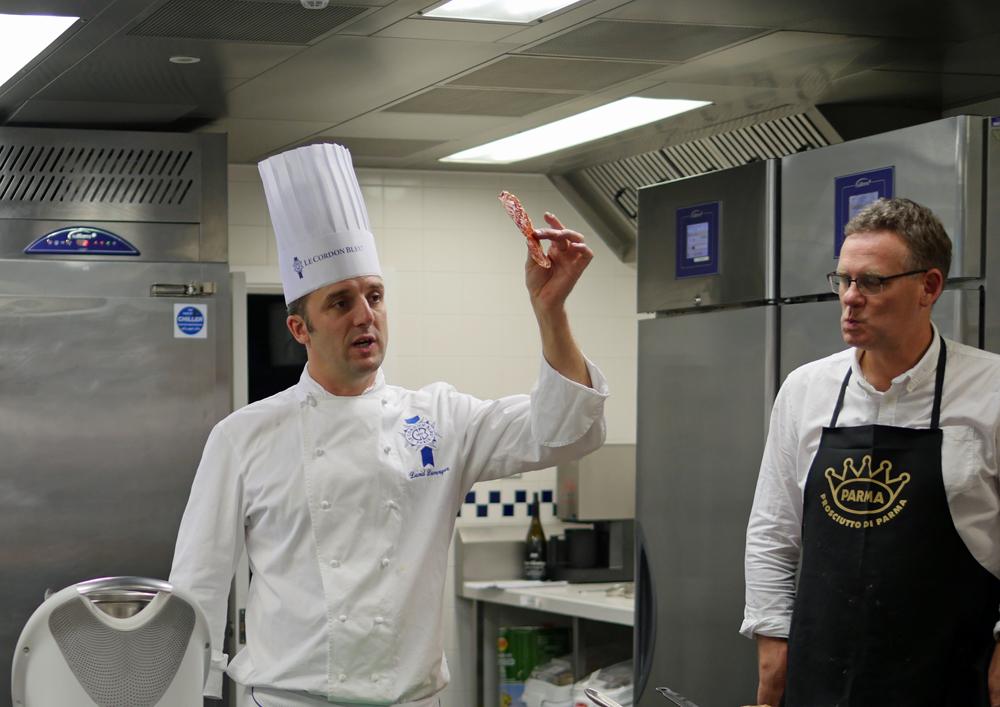 Parma Ham and David Duverger