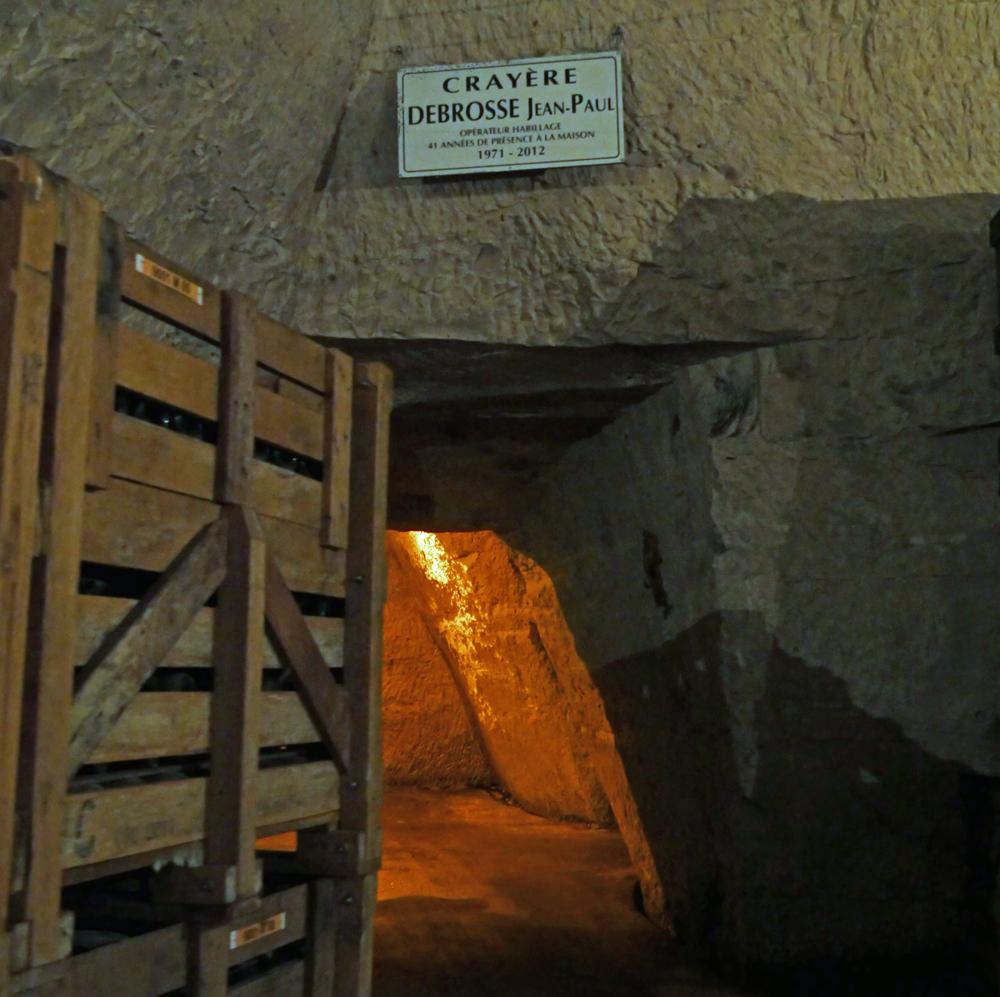Personal Crayeres Veuve Clicquot Cellars