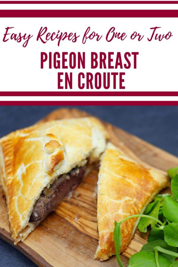 Pigeon Breast en Croute