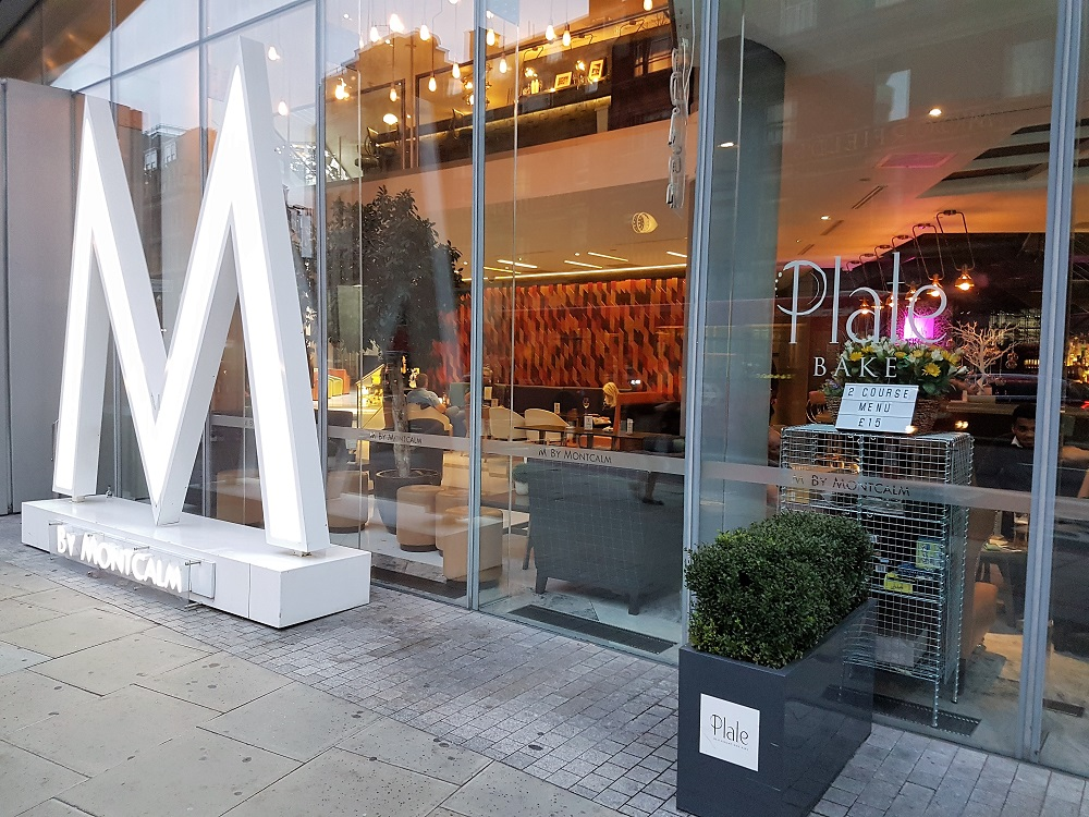 Plate Restaurant M by Montcalm - Old Street London