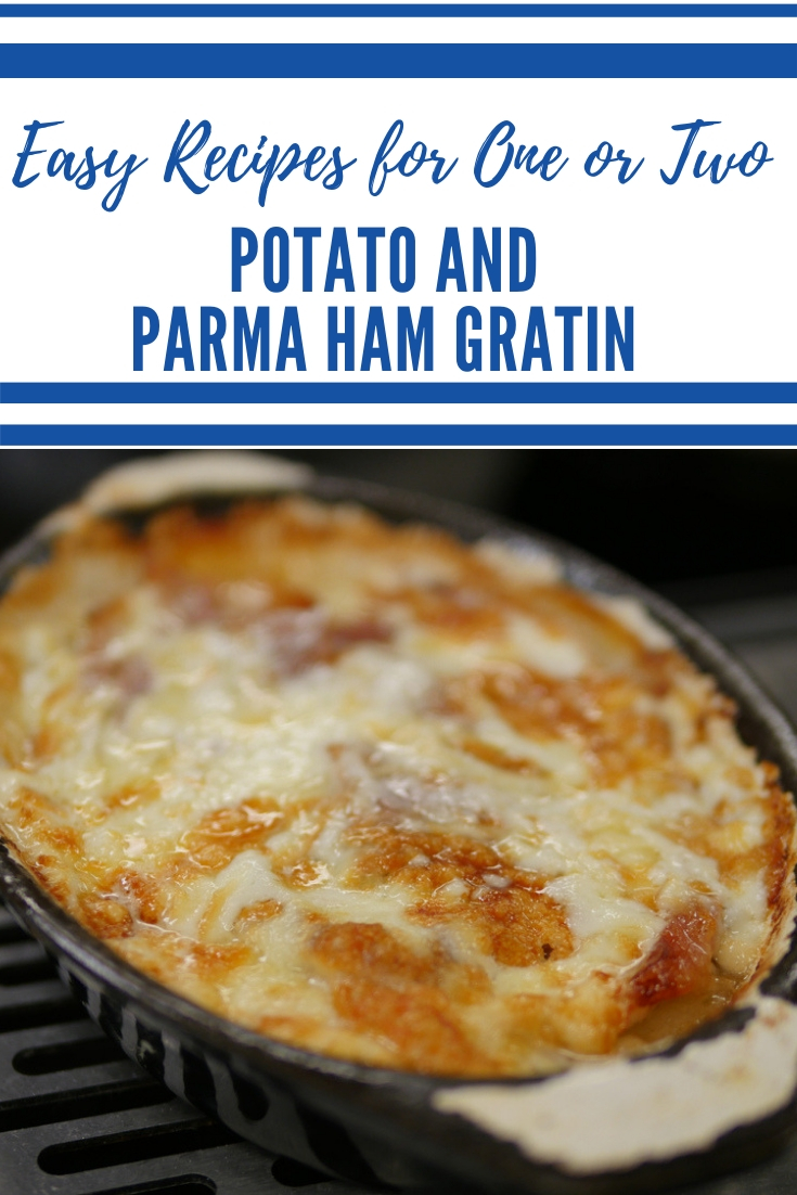 Potato and Parma Ham Gratin