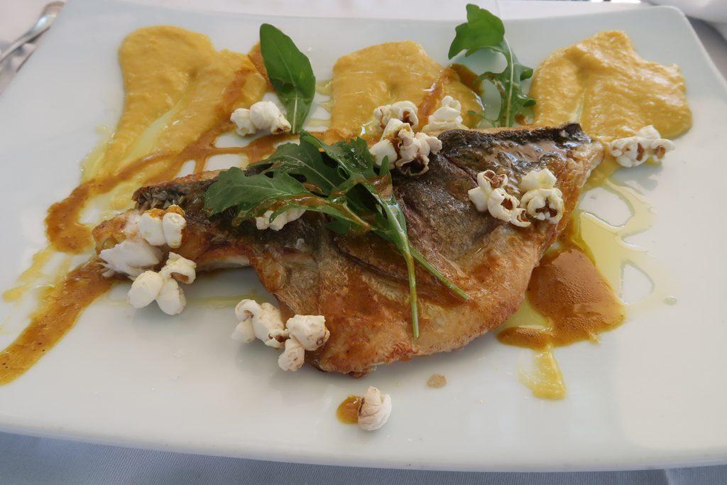 Ronda Almocabar Restaurant Popcorn Fish