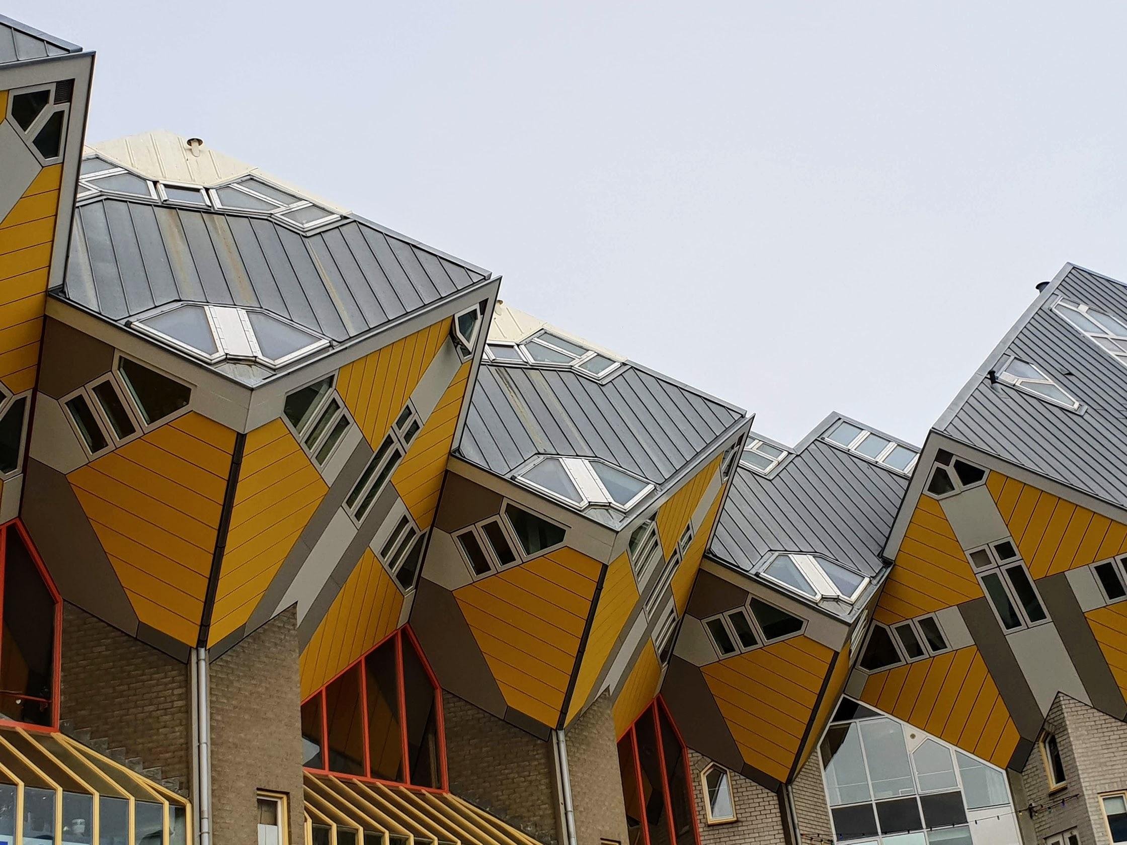 Rotterdam, Cube Houses