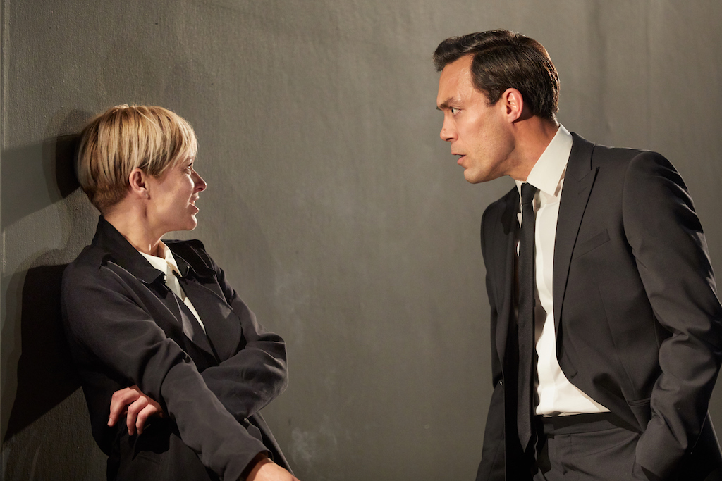 I'm Not Running - David Hare - National Theatre