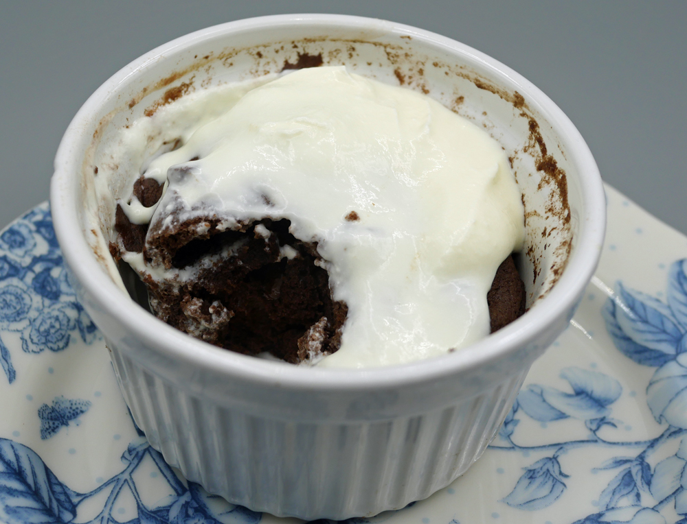So Shape Mug Cake with Yoghurt