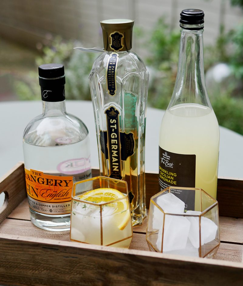 the orangery gin cocktail and review english drinks. Black Bedroom Furniture Sets. Home Design Ideas