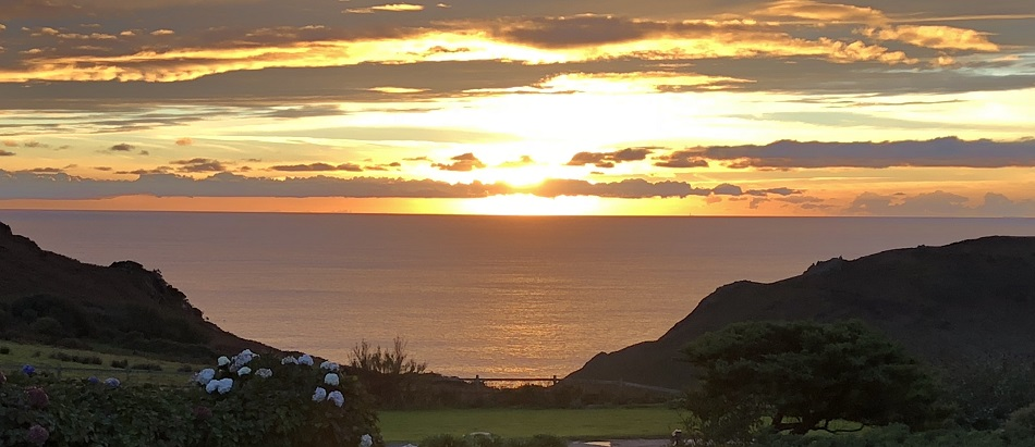 Sunset Soar Mill Cove Hotel South Devon