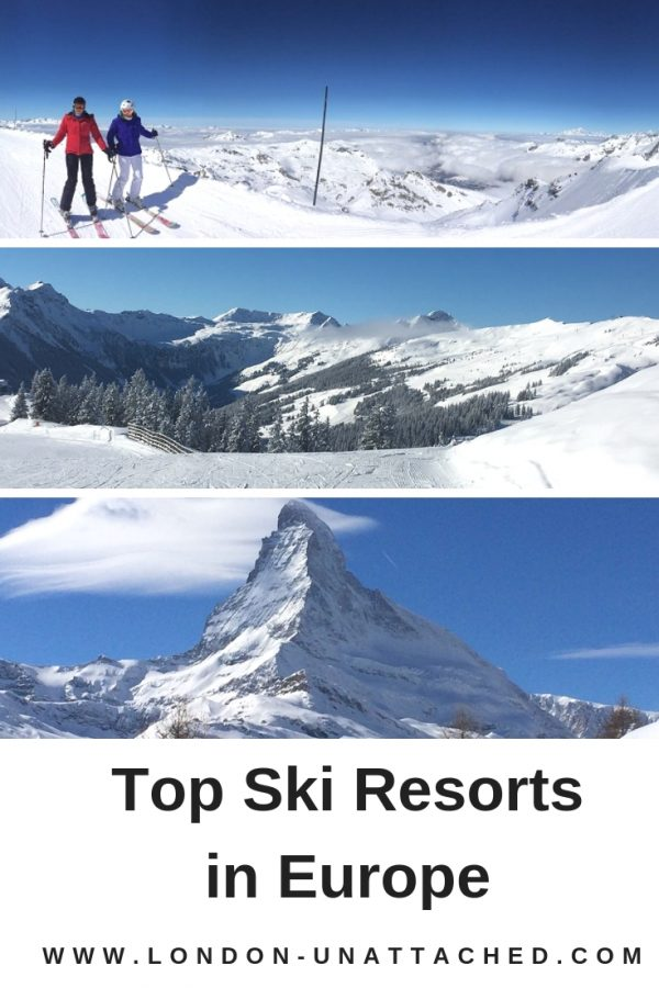 Top Ski Resorts in Europe - Recommended Ski Resorts in the Alps