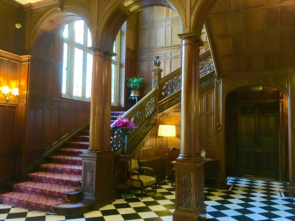 Tylney Hall great hall and staircase