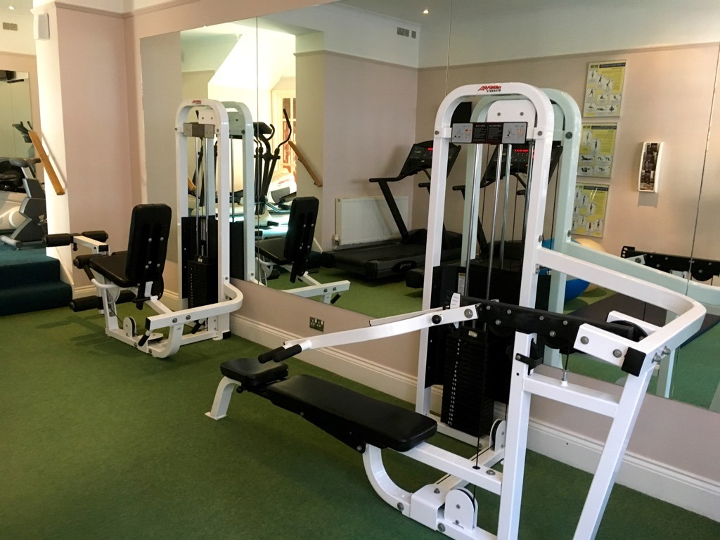 Tylney Hall hotel gym