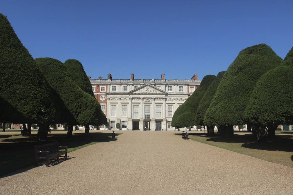 Hampton Court Palace - The east front,