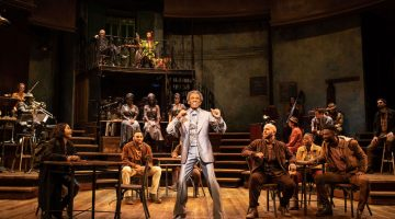 Hadestown at the National Theatre – review