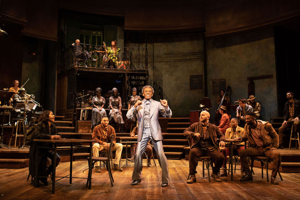Hadestown National Theatre, London