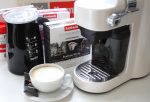 Cappuccino made with ROmbouts Xpress'OH and Dualit DFM1