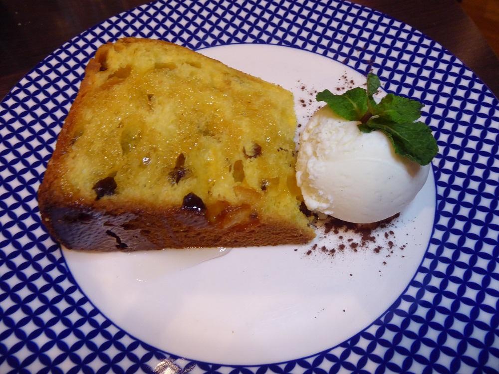 Carluccios Panetonne dessert
