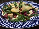 Carluccios Pear and gorgonzola salad