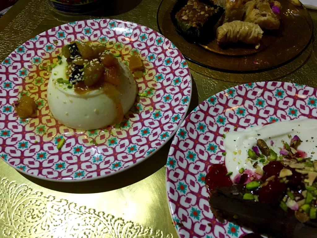 Comptoir desserts
