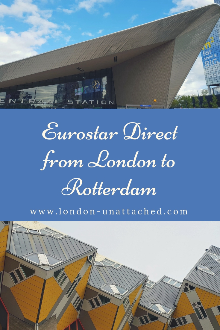 Eurostar Direct from London to Rotterdam - Standard Premier Review