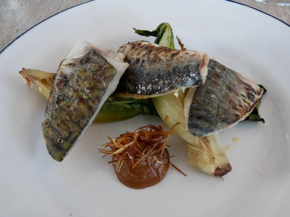 Gallivanmt- Rye - seared mackerel