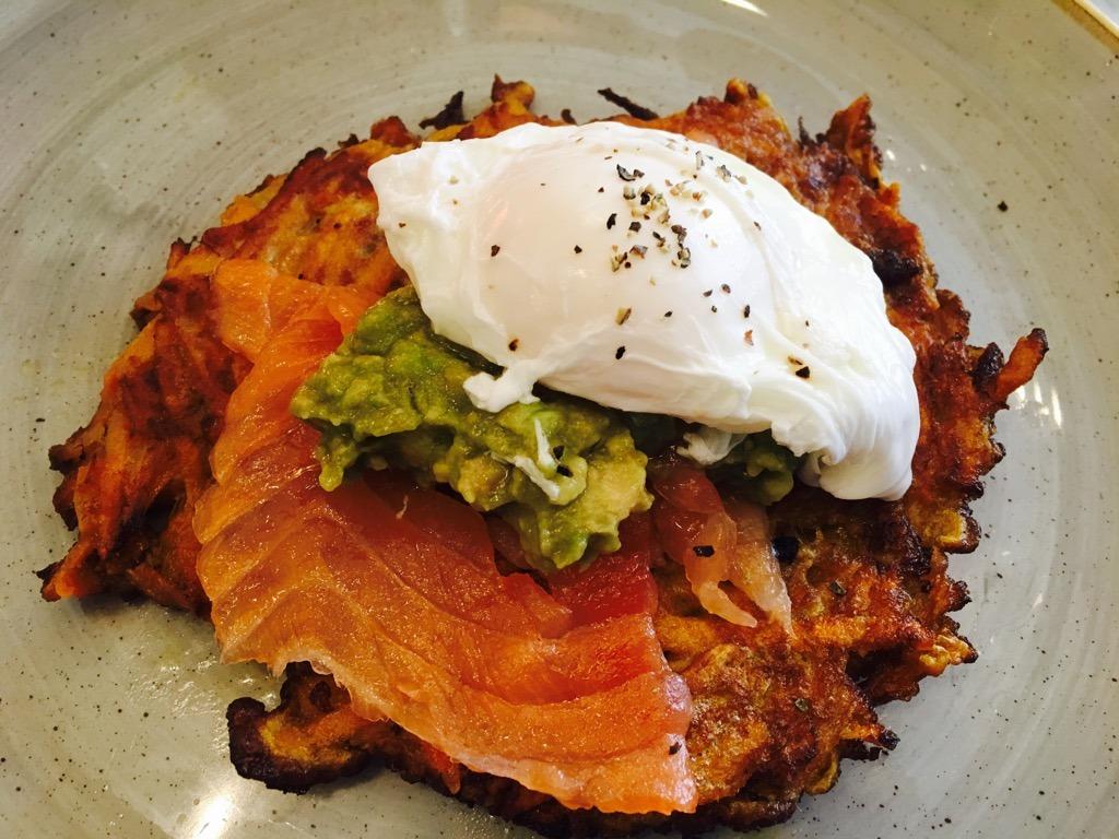 Hotel Indigo breakfast Theo reccomends