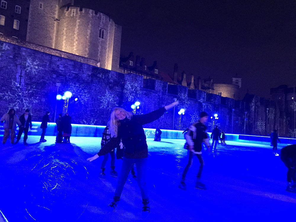 Ice Skating Tower of London Fun Shapes