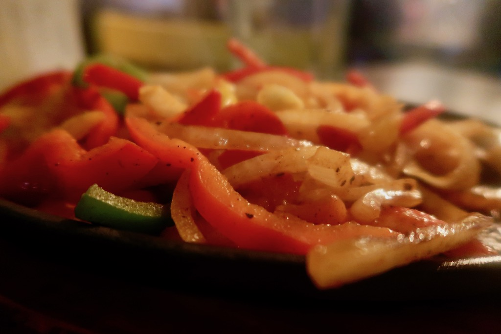 Cafe Pacifico - King prawn fajitas