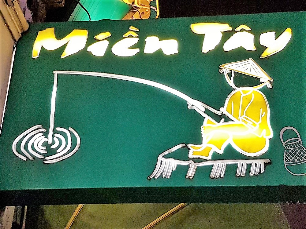Mien Tay - sign - Vietnamese Restaurant London