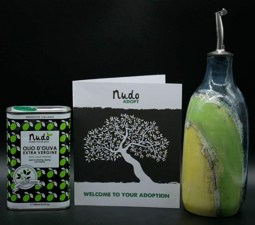 Nudo - gift pack and olive tree adoption